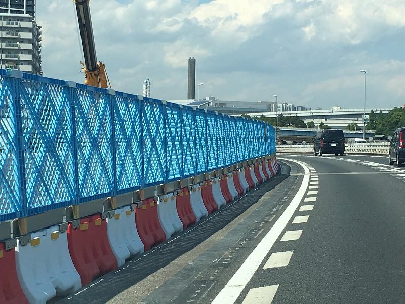 高速道路仮設工事フェンス用金具